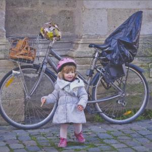 chanceliére, vélo enfant, vélo, liste de naissance, couture pour enfant, couture pour bébé, fait main